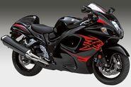 2011 Suzuki Hayabusa (Red and Black)