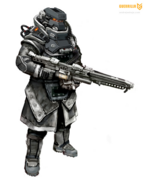 KILLZONE3 lmgtrooper concepts