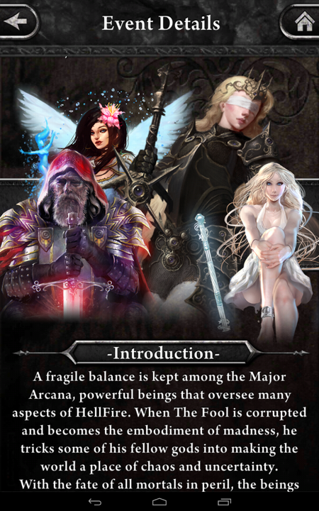 Order and Chaos Event Info 1