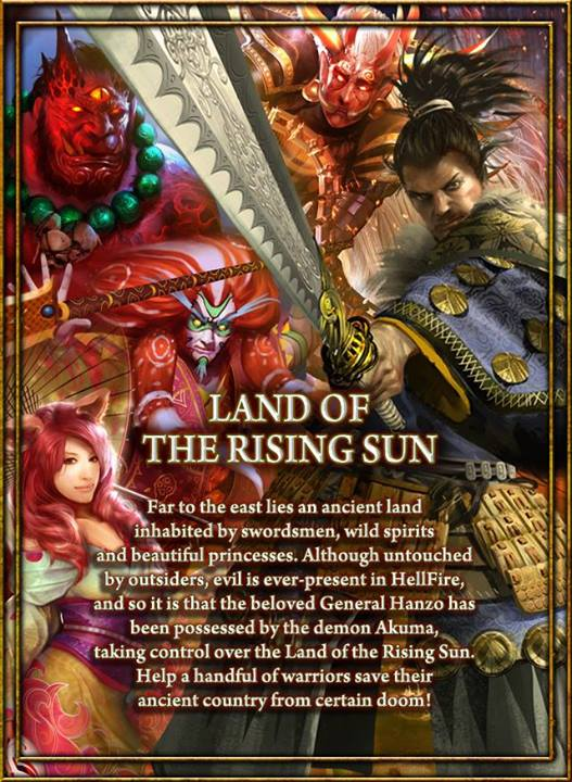 Poster Land of the Rising Sun 2