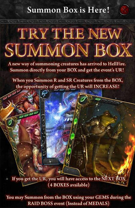 Land of the Rising Sun Summon Box