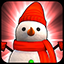 Snowman Red icon