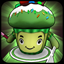 Green Tea Cupcake icon
