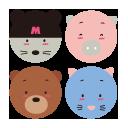 File:Sanrio Characters Zoozoogang Image001.png