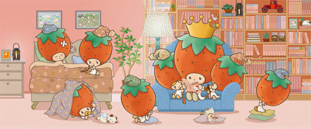 File:Sanrio Characters Strawberry King--Tuffy--Tommy--Dandy--Crybaby--Socrates--Stinky--Candy (Strawberry King) Image007.jpg