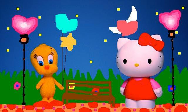 File:Sanrio Characters Tweety Hello Kitty Image022.jpg