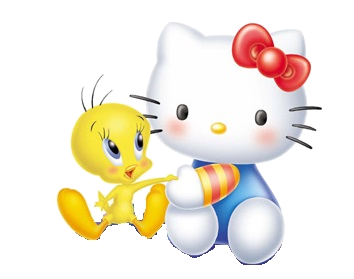 File:Sanrio Characters Tweety Hello Kitty Image004.png