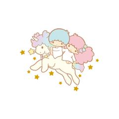 With their unicorn