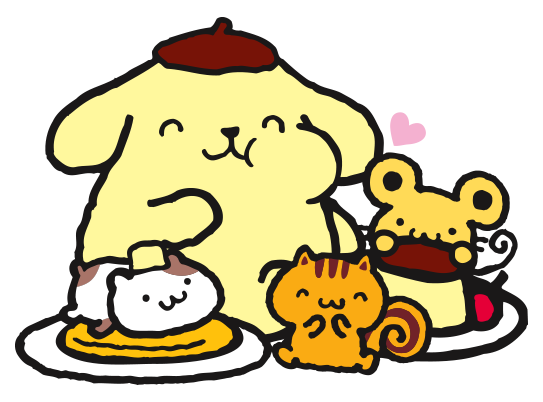 File:Sanrio Characters Pompompurin--Muffin--Bagel--Scone Image001.png