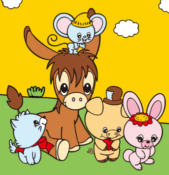 File:Sanrio Characters Spunky Burro Image003.png
