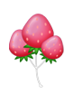 Pinkstrawberryballoon