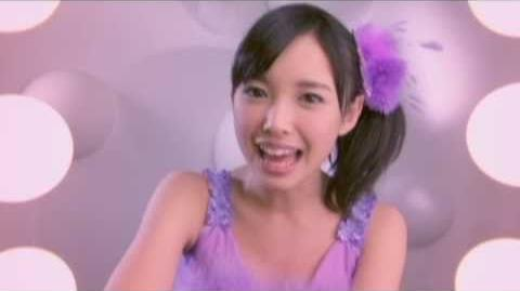 ℃-ute - LALALA Shiawase no Uta (MV) (Nakajima Saki Close-up Ver