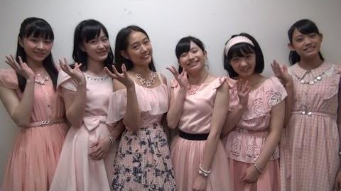 「Hello! Project New Fes!Ⅱ」Message from Tsubaki Factory
