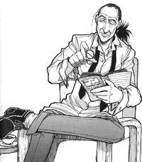 Hellsing manga again- Walter