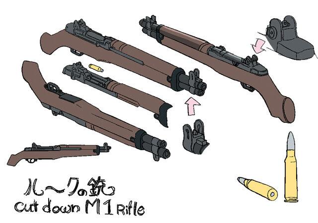 File:Luke Valentine's Cut-Down M1 Garands.jpg