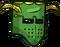 Green Face Helmet