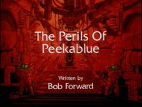 The Perils of Peekablue