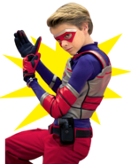 Kid Danger fist grab