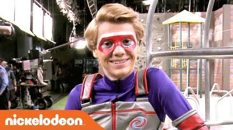 Henry Danger BTS on Hour of Power w Jace Norman Nick