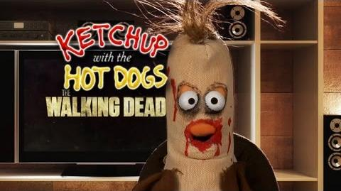 WALKING DEAD Season 3 Puppet Recap Ketchup with the Hot Dogs
