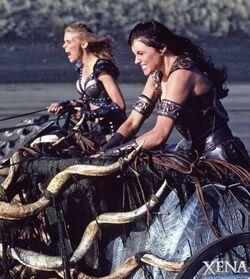 Xena Callisto Chariots