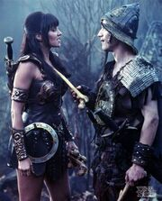 Xena and Joxer