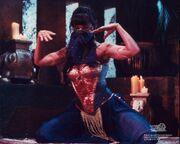 Xena dancing, Cradle of Hope