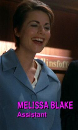 Melissa blake character