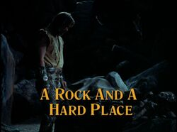 Rock and a Hard Place Title