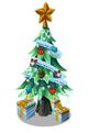 Icy Festive Tree
