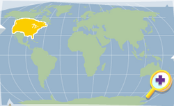 Jackalope location map