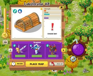 Trap menu
