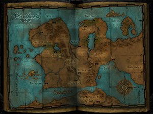 Map Parthoris