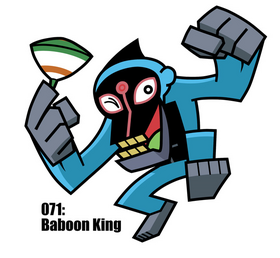 Baboon King