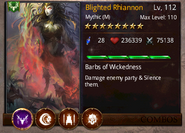 Blighted Rhiannon T4