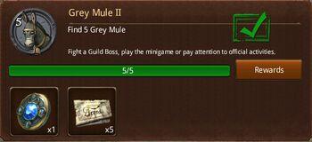Grey Mule II
