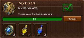 Deck Rank SSS