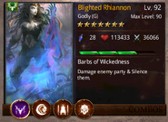 Blighted Rhiannon T3