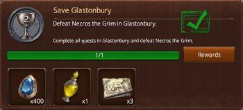 Save glastonbury