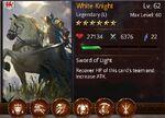 White Knight Tier 1 Overlevel