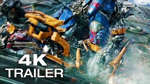 TRANSFORMERS 5 THE LAST KNIGHT Trailer 4K Ultra HD 2017