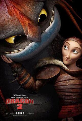 File:HTTYD2 Valka movie poster.jpg