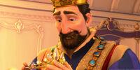 King Frederic of Corona