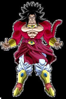 Broly Legendary Super Saiyan 4 Form