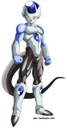Frost dragon ball super by naironkr-d9sesee