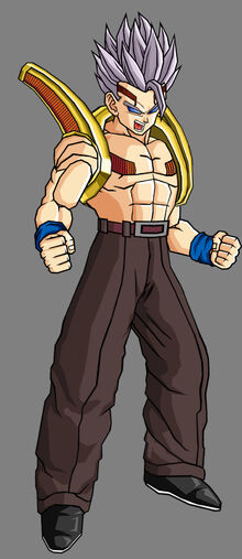 Bebi gohan gt second form by theothersmen-d410i0y
