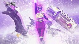 Female Kyoryu Violet Role Call