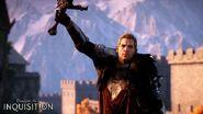 Cullen wielding sword