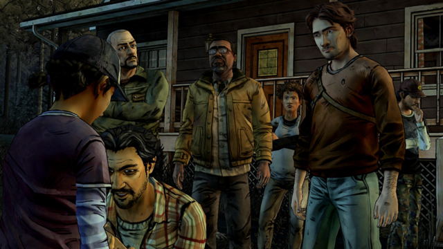 File:Cabin Group Deciding Clem's Fate.png