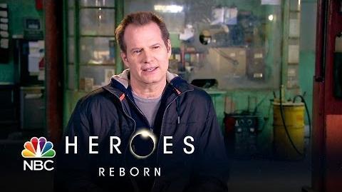 Heroes Reborn - Jack Coleman (Interview)
